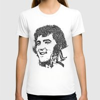 elvis presley T-shirts featuring Elvis Presley by The Curly Whirl Girly.