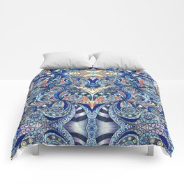 Drawing Floral Zentangle G7B Comforters