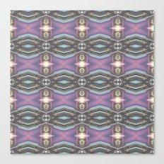 Lavender Chrome Canvas Print