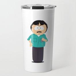 Randy Marsh with a Glass of Redwine Travel Mug