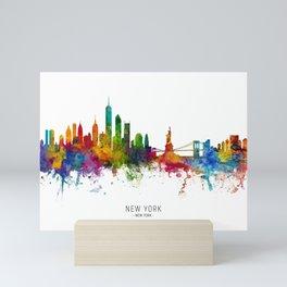 New York Skyline Mini Art Print