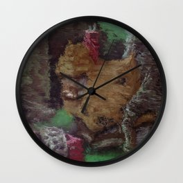 Cottage in the Glade Wall Clock