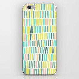 Terrazzo pastel overlay iPhone Skin