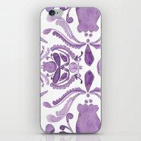 scandinavian iPhone & iPod Skins featuring Scandinavian Watercolor by revel designs
