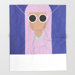 GIRLS #3 Throw Blanket