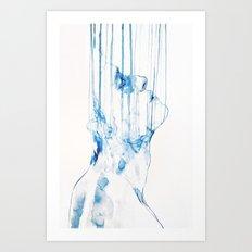 LIQUIFY Art Print