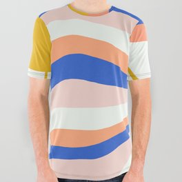 sunrise surf All Over Graphic Tee