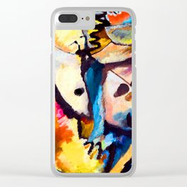 Wassily Kandinsky Improvisation XIII Clear iPhone Case