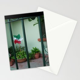Patio at Dawn, Barrio Antiguo Stationery Cards