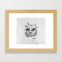dagon. Framed Art Print