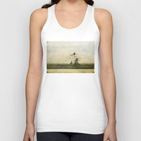 ufo Tank Tops featuring UFO by PeDSchWork