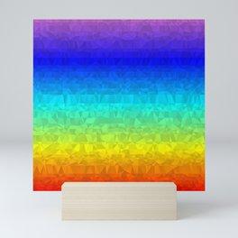 Rainbow - Flipped Mini Art Print