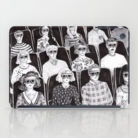 movies iPad Cases featuring The movies by Margarida Esteves