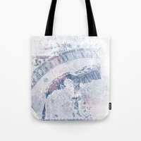 vintage map Tote Bags featuring Vintage Map by MJ'designs - Marosée Créations