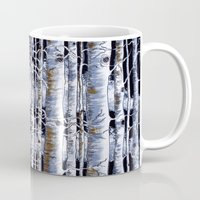 birch Mugs featuring Birch Slap by Tyler Resty