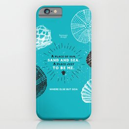 A place to be me iPhone Case