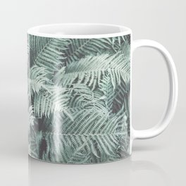 Fern Patten Turquoise Texture Coffee Mug