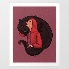 Don't Be Such a Sourwolf Art Print