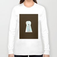 psycho Long Sleeve T-shirts featuring PSYCHO by The Bravo Sisters Art