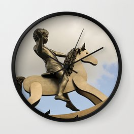 Rocking the horse Wall Clock