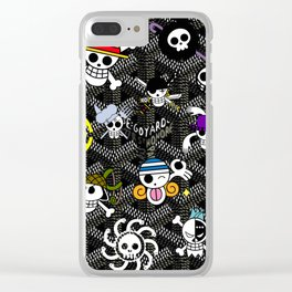 Goy One Piece anime Clear iPhone Case
