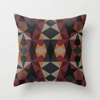 mirror Throw Pillows featuring Mirror by Leandro Pita