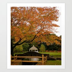 The Last Day of September Art Print