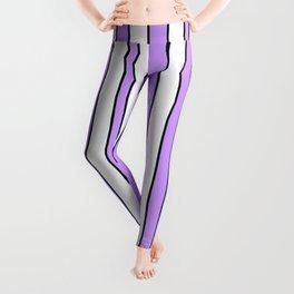 Strips 8-line,band,striped,zebra,tira,linea,rayas,rasguno,rayado. Leggings