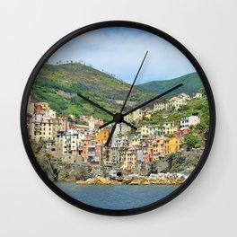 Cinque Terre Italy Wall Clock