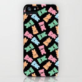 Yummy Gummy Bears (DARK) iPhone Case
