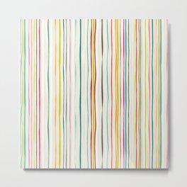 love stripe Metal Print
