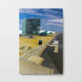 Boat Dock by Monique Ortman Metal Print