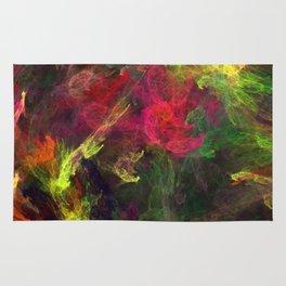 Colorful splash Rug