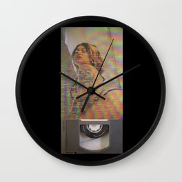 Miki Mensa Rooftop Pool VHS Wall Clock