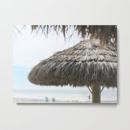Seaside Paradise Metal Print