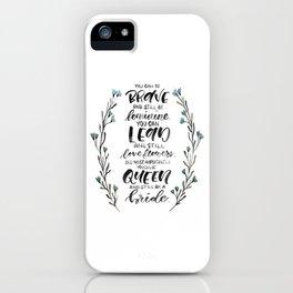 Queen & Bride iPhone Case