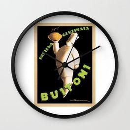 Vintage Buitoni Pasta Advert - Circa 1928 Wall Clock