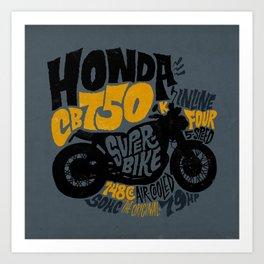 CB750 Art Print