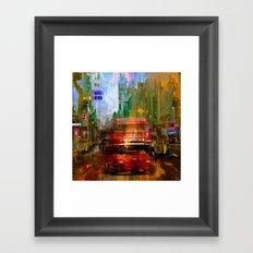 A British city Framed Art Print
