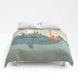 summer holiday Comforters