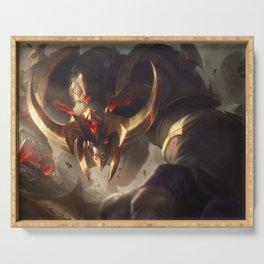 Conqueror Alistar league of legends Serving Tray