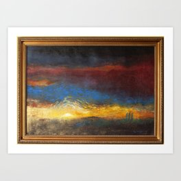 The Road to Emmaus #2 Art Print