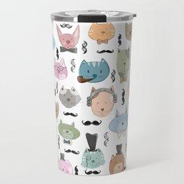 Aristocats Seamless Pattern Travel Mug