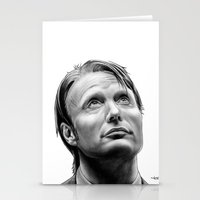 hannibal Stationery Cards featuring Hannibal  by Mutemouia