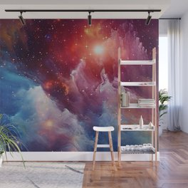 Misterious Space Wall Mural