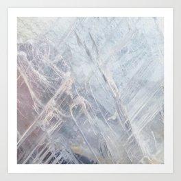 Linear Quartz Art Print