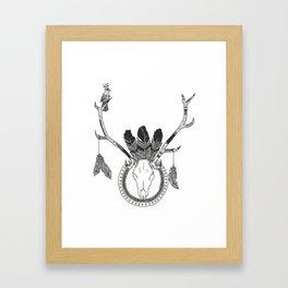 Dear Framed Art Print