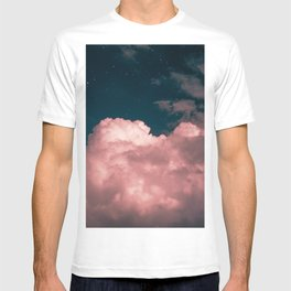 Pink night clouds T-shirt