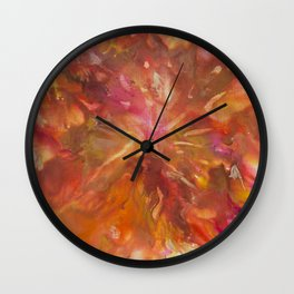 Consuming Fire Wall Clock