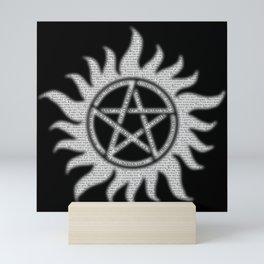 Carry On Supernatural Pentacle Mini Art Print